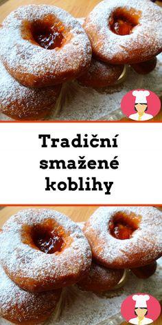 Tradicní smažené koblihy Doughnut, Food, Essen, Meals, Yemek, Eten