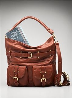 Belted Hobo With Pockets By Co Lab