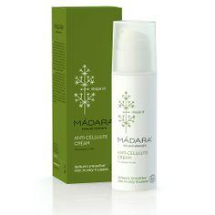 Buy Madara Anti Cellulite Cream -- and other Madara products at LoveLula - The World's Natural Beauty Shop. What Is Cellulite, Cellulite Cream, Anti Cellulite, Cellulite Workout, Cellulite Exercises, Organic Face Products, Organic Skin Care, Calendula, Madara Cosmetics