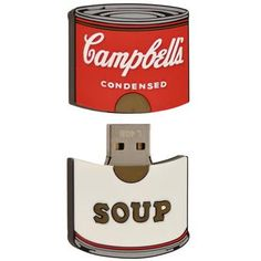 Send this Campbell's Soup Can USB to campus.