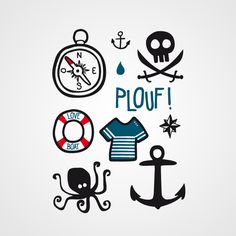 Pirate elements - Bernard Forever
