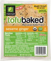 Organic Sesame Ginger TofuBaked  http://www.nasoya.com/where-buy-new-tofubaked