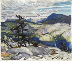 Franklin Carmichael - La Cloche Landscape x Watercolour Franklin Carmichael, Watercolour, Artists, Landscape, Painting, Watercolor, Watercolor Painting, Scenery, Painting Art