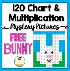 Students will love discovering the cute bunny mystery picture while practicing math skills!  Come on over to my store and grab this cute freebie for some spring or Easter fun! There are two activities included in the download, so it will work for a variety of levels. An easier version uses a 120 chart to…