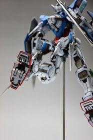 GUNDAM GUY: MG 1/100 GN-001 Gundam Exia - Painted Build Gundam Exia, The 100, Robots, Building, Guy, Cars, Collection, Robot, Buildings