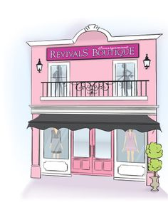 Wonderful gems hidden with clothes and accessories on the cutest main street ever