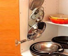 идеи для хранения в кухонном шкафу