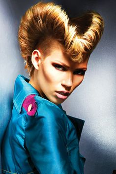Hair: Jamie Stevens at Jamie Stevens Hair. Make-up: Dragon. Styling: Kate Jeffery. Photography: Barry Jeffery