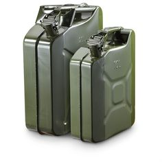 U.S. Military-style Jerry Cans, Olive Drab