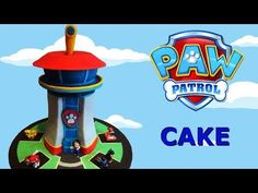 My son wanted a Paw Patrol Birthday Party and of course he wanted the Lookout Tower as a birthday cake. Not a regular Paw Patrol Cake – not even a multi tier. Baby Boy Birthday Cake, Paw Patrol Birthday Cake, Paw Patrol Cake, Paw Patrol Party, Fourth Birthday, First Birthday Cakes, Birthday Stuff, Birthday Ideas, Birthday Parties