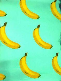 Gone bananas. #kitchen #wallpaper