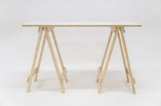 Small trestle table 1.2meters long 60cm wide