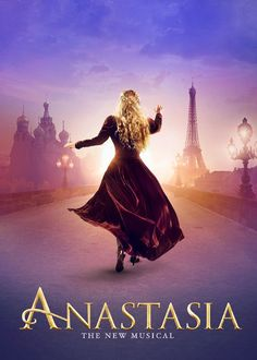 Inspired by the beloved films, the romantic and adventure-filled new musical Anastasia comes to Broadway. Broadway Posters, Musical Theatre Broadway, Broadway Plays, Broadway Shows, Theatre Posters, Movie Posters, Anastasia Broadway, Anastasia Musical, Princesa Anastasia
