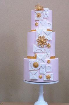 Modern design cake