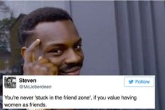 18 Jokes About The Friend Zone That Will Make Women Laugh http://www.shenhuifu.org/2017/04/17/jokes-about-the-friend-zone/ #feminism #friendzone #women