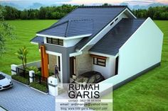 Desain Rumah Takalar   Rumah Garis dipercayakan oleh Ibu Niar yang merupakan teman SMA, untuk mengerjakan proyek desain rumah ...