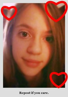 "This is Ella. She is being bullied and is being told to commit suicide. Repost this if you love Ella and would care if she was gone. To Ella ~ If you see this hun, just remember there are many people out there who do care. I know i do. So just stay strong we love you. To public ~ the person sending hate is named ""I hate Ella"" she has three followers. Please take a few minutes to report her. We need to get the hate off this site. Thank you. :)"