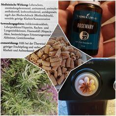 Rosmarin der kleine Helfer Young Living, Pure Leaf Tea, Helfer, Dog Food Recipes, Essential Oils, Pure Products, Drinks, Bottle, High Blood Pressure