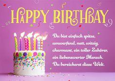 Exceptionnel Geburtstagssprüche Kinder · Postkarte   Du Bist Spitze