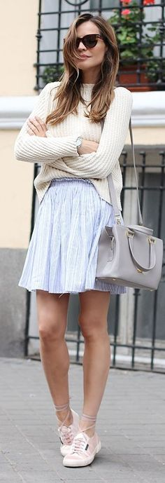 Stater Skirt Streetstyle by LadyAddict