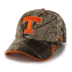 '47 Adults' University of Tennessee Realtree Frost Camo MVP Cap (Green/Brown, Size One Size) - NCAA Licensed Product, NCAA Men's Caps at Academy Sp...