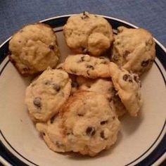 Biscuits décadents aux pépites de chocolat