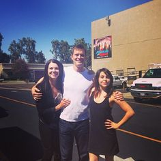 """FIRST DAY FAMILY #parenthood #bravermen"" - photo from Mae Whitman 