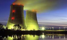 Torre de resfriamento de usina nuclear