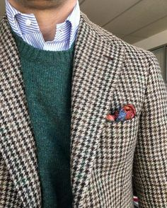 Men's Jackets For Every Occasion. Photo by Menswear Market Jackets are a must-have in the cold weather but it can also be used to accessorize an outfit. Der Gentleman, Gentleman Style, Suit Fashion, Look Fashion, Fashion Styles, Womens Fashion, Classic Outfits, Casual Outfits, Classic Clothes
