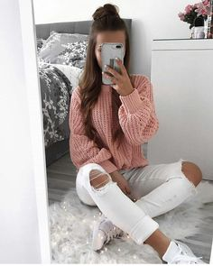 teenager outfits for school ; teenager outfits for school cute ; Teenage Outfits, Cute Teen Outfits, Cute Comfy Outfits, Basic Outfits, Winter Fashion Outfits, Simple Outfits, Look Fashion, Outfits For Teens, Stylish Outfits