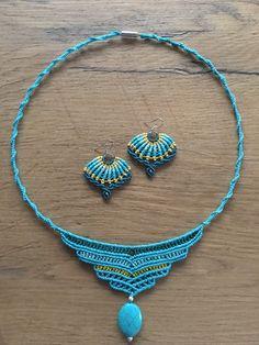 Macrame Earrings, Beaded Necklace, Necklaces, Mini, Jewelry, Fashion, Macrame Jewelry, Cute Bracelets, Jewerly