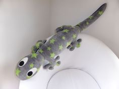 Salamander XXL * Kuscheltier, 1 Meter lang & schön weich * Anleitung und Schnittmuster - Nähanleitungen bei Makerist sofort runterladen