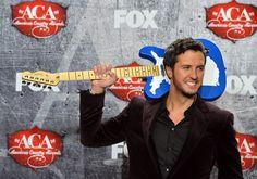 Luke Bryan Photos - 2012 American Country Awards - Press Room - Zimbio