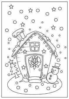 christmas coloring pages printable | Christmas Coloring Pages Printable