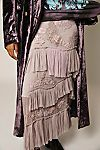 Long Ruffle Lace Skirt   Free People Lace Skirt, Midi Skirt, Lace Detail, Hemline, Ruffles, Vintage Inspired, Kimono Top, Skirts, Pants