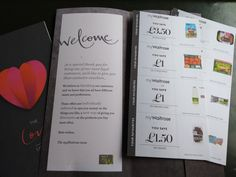 Waitrose ditch Pick Your Own in favour of coupons. This set landed on our desks - a spot on reflection of regularly purchases, rather than the random selection often sent out be others
