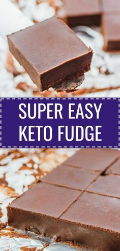 This is a simple and easy recipe for keto fudge bars. This low carb treat is no - Keto Brownies - Ideas of Keto Brownies - This is a simple and easy recipe for keto fudge Keto Brownies, Keto Fudge, Keto Desserts, Dessert Recipes, Holiday Desserts, Breakfast Recipes, Dinner Recipes, Muffin Recipes, Fudge Recipes