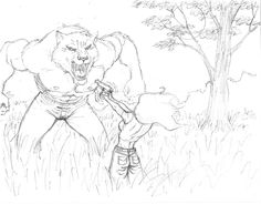 Werewolf! Werewolf, Storytelling, Drawings, Illustration, Art, Art Background, Kunst, Sketches, Illustrations