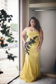 Look Plus - Vestido de Festa Plus Size Josephine Noivas - Débora Fernandes