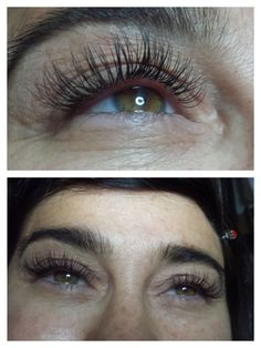 Try Minky's Lash Extensions at Spalon Montage! It can give your eye lashes the thickness and length that you've always wanted. This transformation was from Gow at our Edina location.