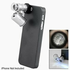 Where can you buy Apollo23-60X Zoom LED Cell Phone Mobile Phone Microscope Micro Len for Apple iPhone 5. Description: This magnificent microscope magnifies things to 60 times their original size, giving you an in depth look at leaves, freckles, insects and hallmarks on your jewelry. The iPhone 5 …