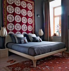 Interiors. Design by Katerina Levallois