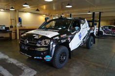 Wolf 4x4 - Grunt Global - VW Amarok Rally Car 1