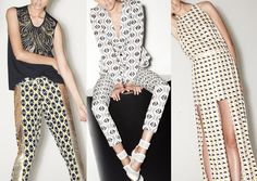 Sass & Bide – Pre Fall 2014-Optical Repeats – Gold & Metallic Colour Plays – Opulent Geometric Prints – The Great Gatsby References – Modernised Art Deco Edge