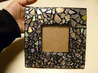 Tutorial: mosaic from cd's #home_decor #recycle #reuse #repurpose #diy #crafts