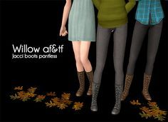 sims 2 maxi dress and boots