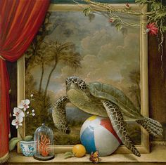 Tropical Tableau by Kevin Sloan