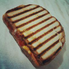 Pizza Panini on Sesame Bread