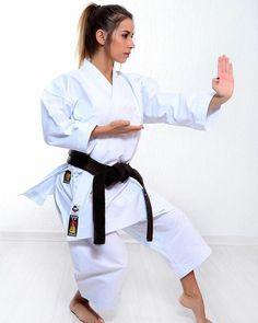 Female Martial Artists, Martial Arts Women, Karate Girl, Beautiful Athletes, Black Belt, Coat, Fitness, Girls, Sports