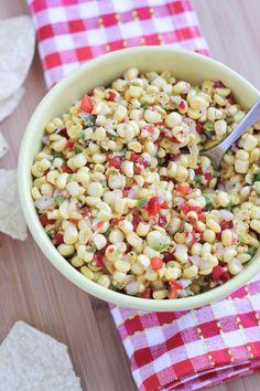 Tomato-less Sweet Corn Salsa (Trader Joe's Copycat!)